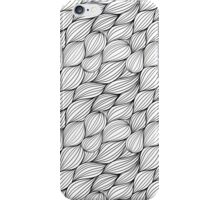 Abstract Black Lines iPhone Case/Skin