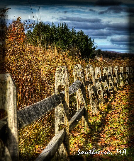 Country Fence by Bill Gorman