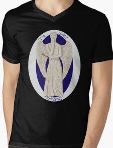 The angel's got the screwdriver! Mens V-Neck T-Shirt