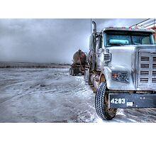Big old Freightliner. Photographic Print