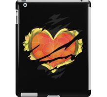 Heart Container tearing through shirt = Dark Heart iPad Case/Skin