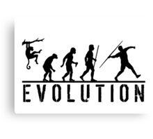 Javelin Evolution Canvas Print