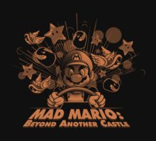 Mad Mario: Beyond Another Castle Kids Clothes