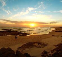 Stockton Beach. by Andy Newman