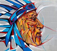 Pow Wow Hawaii Art Mural .3 by Alex Preiss