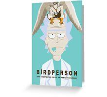 Birdperson Greeting Card