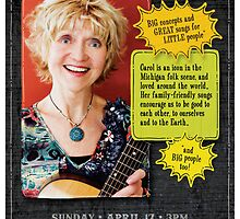 Carol Johnson Performance Poster by Luke Massman-Johnson