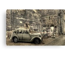 Bomb Damage  Canvas Print