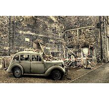 Bomb Damage  Photographic Print