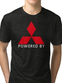 Powered By Mitsubishi Tri-blend T-Shirt