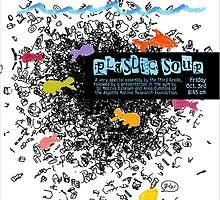 """The Oaks School """"Plastic Soup"""" Poster by Luke Massman-Johnson"""