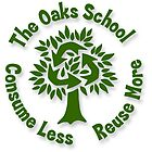 The Oaks School Green Committee Treecycle Logo by Luke Massman-Johnson