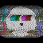 Skull test card by renduh