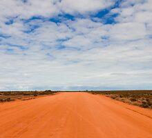 The Red Highway by davidmorganti