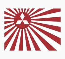 Mitsubishi Rising Sun by OcTag3n