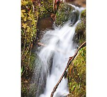 A Rush of Water Photographic Print
