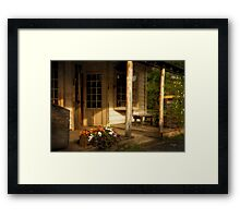 Old Bedford Village General Store Framed Print