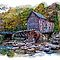 GLADE CREEK GRIST MILL by Randy & Kay Branham