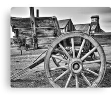 Old West Wagon Canvas Print