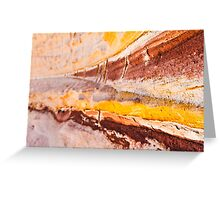 Coloured Sands Greeting Card