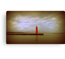 Historic North Pier Canvas Print