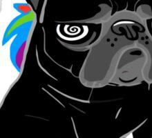 black unipug Sticker