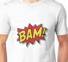 Bam! Comic Book Effect Unisex T-Shirt