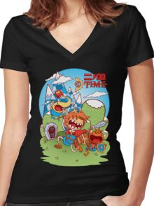 Mathemagical! Women's Fitted V-Neck T-Shirt