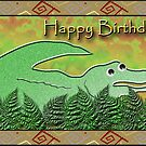 Happy Birthday Alligator by jkartlife