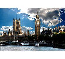 London sky Photographic Print