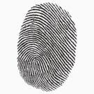 Fingerprinted Tee by JP Grafx