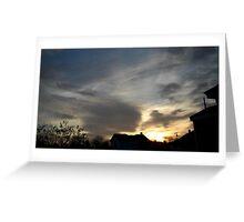 Feb. 5 2013 Sunset 2 Greeting Card