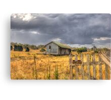 Deserted Railway Station Nimmitabel NSW Rural Goods Shed Canvas Print