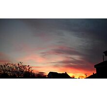 Feb. 5 2013 Sunset 10 Photographic Print