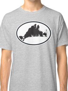 Martha's Vineyard Car Sticker Classic T-Shirt