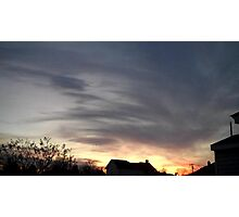 Feb. 5 2013 Sunset 15 Photographic Print
