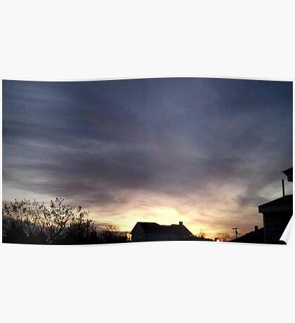 Feb. 5 2013 Sunset 18 Poster