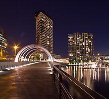 Webb Bridge, Docklands. by dsi-photography