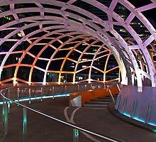 Webb Bridge, Docklands  by dsi-photography