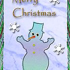Merry Christmas Snowman by jkartlife