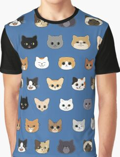 Happy Cats Graphic T-Shirt