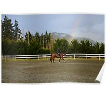 A Ride Under The Rainbow Poster