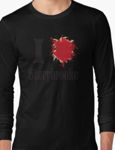 Once upon a time I love storybrooke Long Sleeve T-Shirt