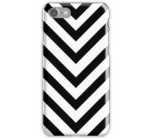 Black and white chervron phone skin iPhone Case/Skin