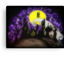 "Nightmare Before Christmas ""Forever"" Canvas Print"