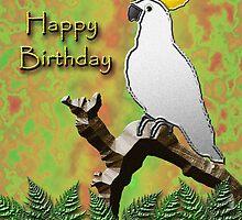 Happy birthday Cockatoo by jkartlife