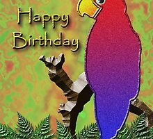 Happy Birthday Parrot by jkartlife