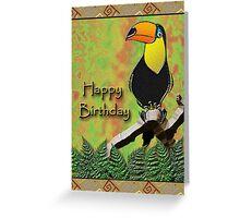 Happy Birthday Toucan Greeting Card