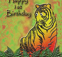Happy 1st Birthday Tiger by jkartlife
