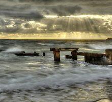 Mentone Pier in color by photojunk